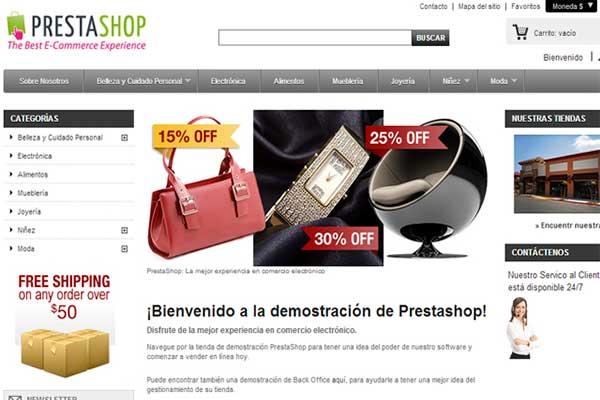 Curso PrestaShop gratis para montar una tienda online